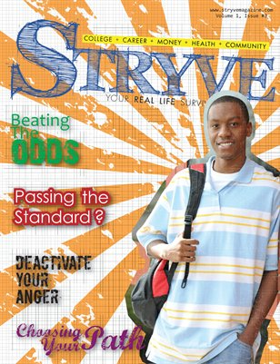 STRYVE Magazine - Vol. 1, Issue #3