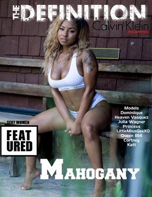 TDM: Calvin Klein Issue 1-Mahogany Cover