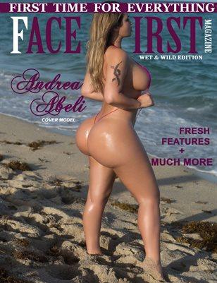 FACE FIRST MAGAZINE VOL.5 (ANDREA ABELI)
