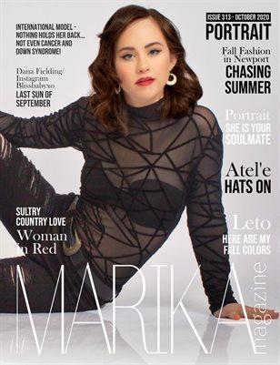 MARIKA MAGAZINE PORTRAIT (October - issue 313)