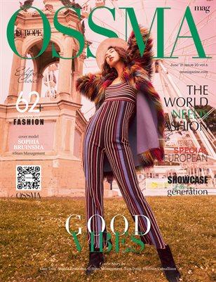 OSSMA Magazine EUROPE ISSUE20, vol6
