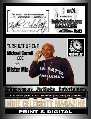 Indie Celebrity Magazine Volume #3