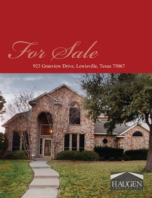 Haugen Properties -  923 Granview Drive, Lewisville, 75067