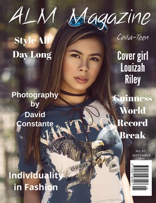 "ALM Child-Teen Magazine, ""Summer's Most Beautiful,"" Issue 87, September 2018"