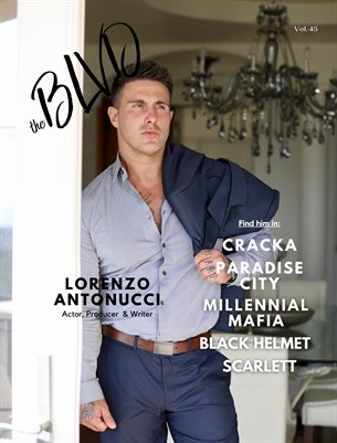The Blvd Magazine Volume 45 Featuring Lorenzo Antonucci