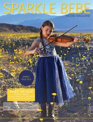Sparkle Bebe Model Magazine Spring Issue 2016 Issue #17
