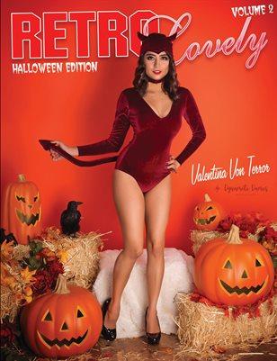 Halloween 2018 - VOL 2 - Valentina Von Terror Cover