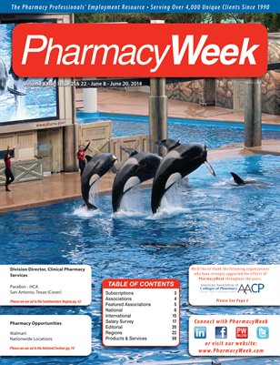 Pharmacy Week, Volume XXIII - Issue 21 & 22 - June 8 - June 21, 2014