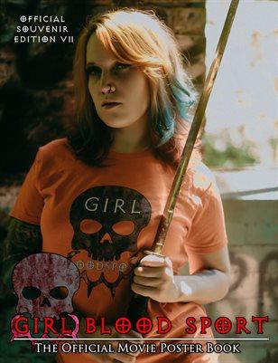 Girl Blood Sport Poster Book - Souvenir Edition Volume 2