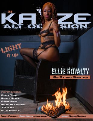 Kayze Magazine issue 35-ELLIE ROYALTY -alt occasion