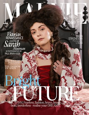 MALVIE Magazine The Artist Edition Vol 260 July 2021