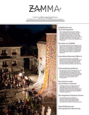 Zamma 2017 - Kulturfestival Oberbayern - Evaluation