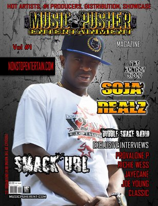 Music Pusher Entertainment Magazine vol #1