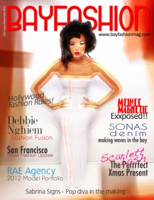 BAYFashion Magazine Dec 2011 - San Francisco Fashion Issue