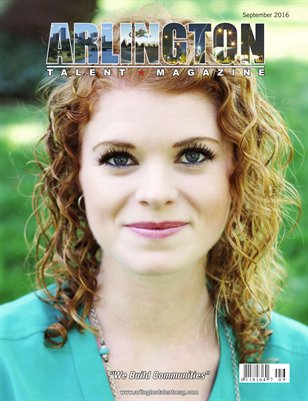 Arlington Talent Magazine September 2016 Edition