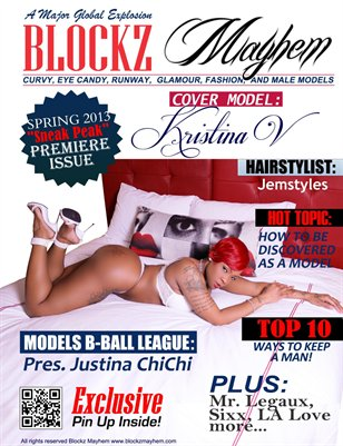 BLOCKZ MAYHEM URBAN MODEL MAGAZINE