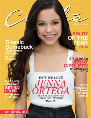 Cliché Magazine Dec 2016/Jan 2017 (Jenna Ortega Cover)