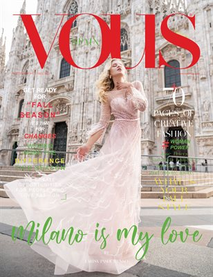 VOUS Magazine | The September Fashion & Beauty Edition | Vol.11 | 2021