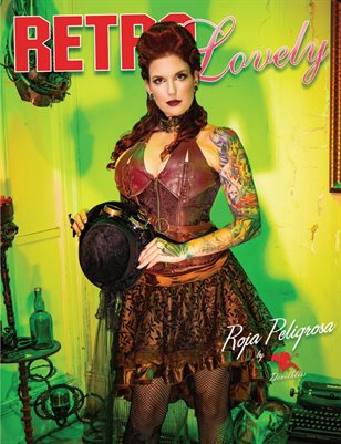 Retro Lovely No.17- Roja Peligrosa Cover
