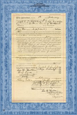 No. 6241 1893 Quit-Claim Deed Joseph C. Linhoff and wife to Barbara Conter, Scott County, Minnesota