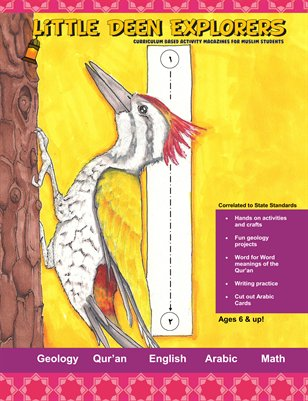 Little Deen Explorers Islamic Science and Geology Workbook