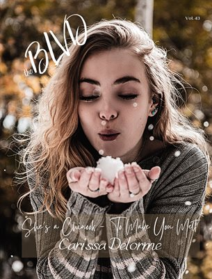 The Blvd Magazine Volume 43 Featuring Carissa Delorme