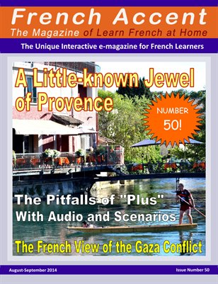 French Accent Magazine - August-September 2014