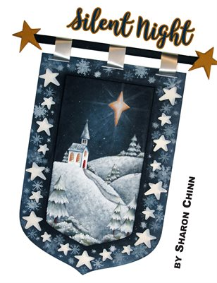 Silent Night Plaque by Sharon Chinn SC00254
