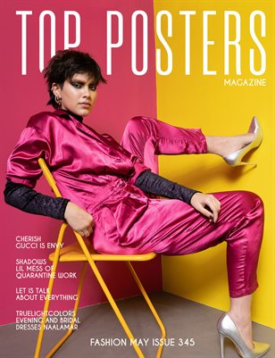 TOP POSTERS MAGAZINE - FASHION MAY (Vol 345)