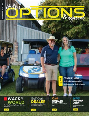 Golf Car Options Magazine - November 2019