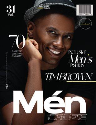 JULY 2021 Issue (Vol: 31) | MEN CRUZE Magazine