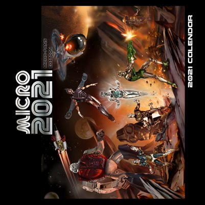 MICRO 2021 Calendar - MICROFANS EDITION