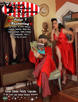 Vintage Boudoir Magazine 7 - Holiday Issue