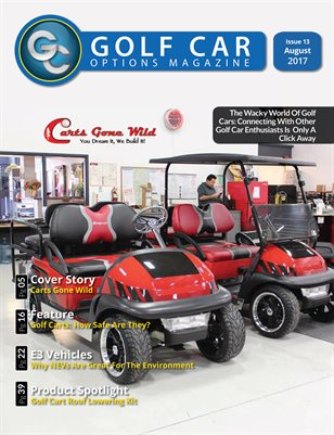 Golf Car Options Magazine - August 2017