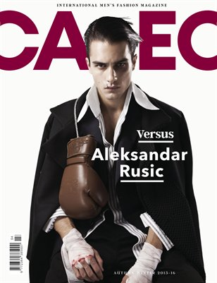 CALEO MAGAZINE The Versus Issue feat. Aleksandar Rusic