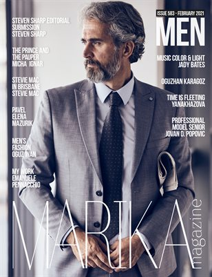 MARIKA MAGAZINE MEN (ISSUE 583 - February)