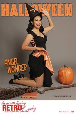 Halloween 2021 Vol.3 – Angel Wonder Cover Poster