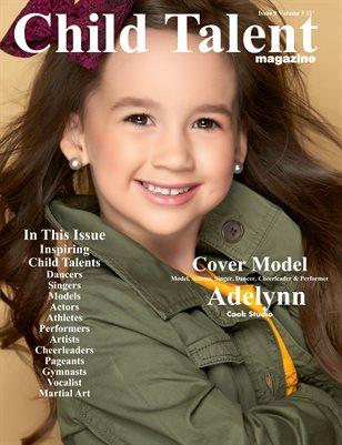 Child Talent Magazine Issue 9 Volume 3 21'