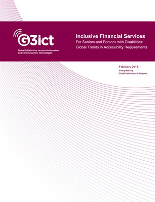 Inclusive Financial Services - Global Trends in Accessibility Requirements