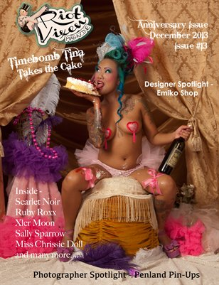 Riot Vixen Magazine Issue #13 December Anniversary Issue