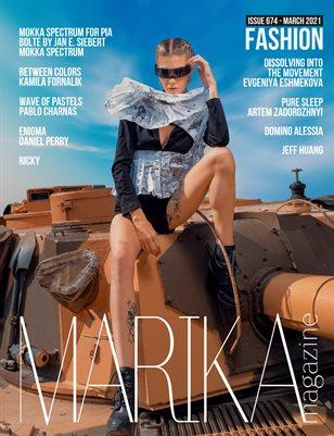 MARIKA MAGAZINE FASHION (ISSUE 674 - MARCH)