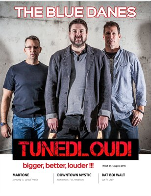 TunedLoud Magazine August  2016
