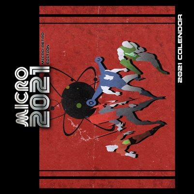 MICRO 2021 Calendar - RETRO EDITION
