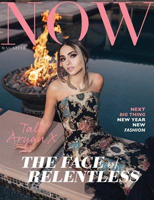 NOW Magazine January Issue 2021 Tala Aryan
