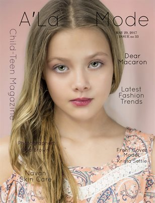 A'La Mode Child-Teen Magazine Issue #33, May 2017