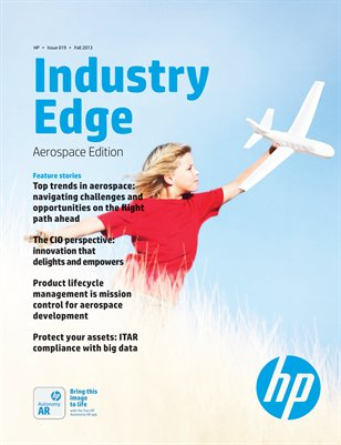 HP Industry Edge: Aerospace edition