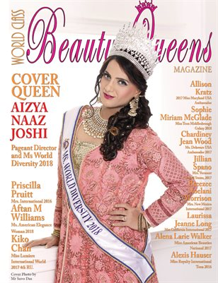 World Class Beauty Queens Magazine with Aizya Naaz Joshi