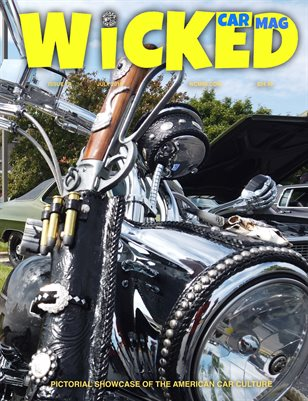 WICKED CAR MAG JULY ISSUE OUTLAW