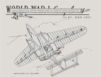 WW1 Aero #87 - November 1981