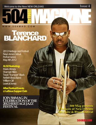 Jazz & Heritage Fest/Terence Blanchard 4th Issue